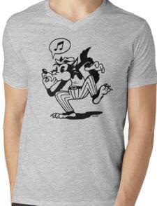 Wolf Whistle Mens V-Neck T-Shirt