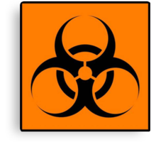 Biohazard Canvas Print