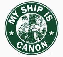 Starbucks/My Ship Is Canon- Merthur by rhizatay