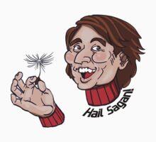 "Carl Sagan ""Hail Sagan!"" w/ Dandelion Seed by MercurialRaven"