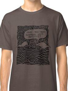 Swimming with Autistics Classic T-Shirt