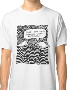 Swimming with Autistics Classic T-Shirt