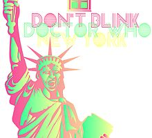 Don't Blink New York by VanyNany