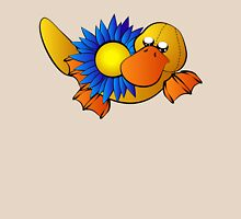 Platypus with Gerbera Daisy Unisex T-Shirt