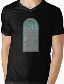 Church of Blink Mens V-Neck T-Shirt