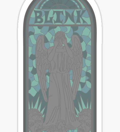 Church of Blink Sticker