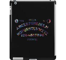 Tie Dye Ouija Board iPad Case/Skin
