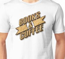 Books & Coffee Unisex T-Shirt