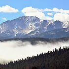 Pikes Peak Above The Fog by Danny Key