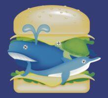 Hamburger Heaven - WhaleOn by Brett Perryman