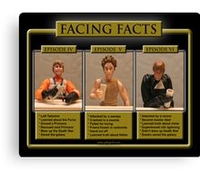Facing Facts Canvas Print