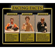 Facing Facts Photographic Print