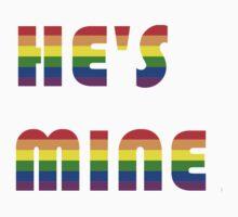 He's Mine rainbow One Piece - Short Sleeve