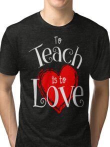 teacher Tri-blend T-Shirt