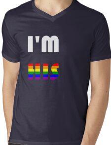 I'm His Rainbow Mens V-Neck T-Shirt