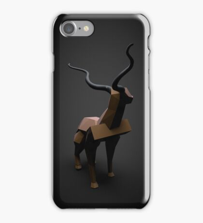 Silence in the woods iPhone Case/Skin