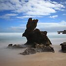 Bunny Rock - Montforts Beach by Jim Worrall