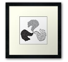 All are one Framed Print