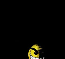 Evil smiley face by hananmajeed