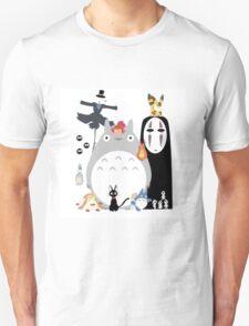 Totoro all Studio Ghibli Gang T-Shirt