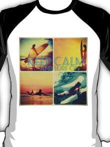 Keep calm and surf on T-Shirt
