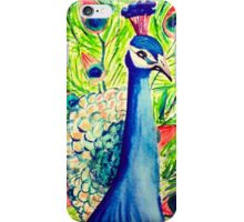 Watercolor Peacock iPhone Case/Skin