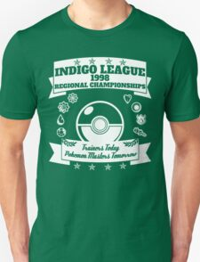Indigo League (White) T-Shirt