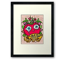 Save The Veggies - Tomato Version 2 Framed Print