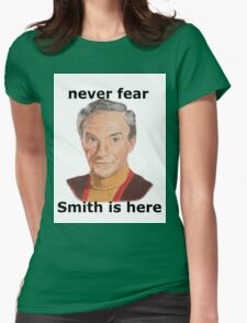 Never fear Smith is here.. Womens Fitted T-Shirt