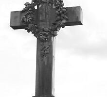 Cemetery Crucifix by jimrac