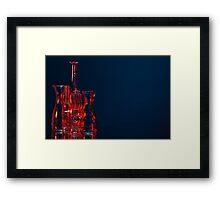 Coloured glass Framed Print