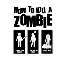 How to kill a zombie by SeedyRom