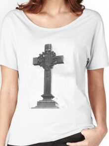 Cemetery Crucifix Women's Relaxed Fit T-Shirt