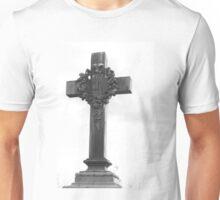 Cemetery Crucifix Unisex T-Shirt