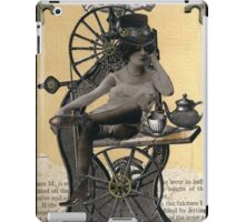 Steampunk Machinist - Sobriquette Pinion iPad Case/Skin
