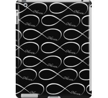 Haven Forever Infinity Symbol White Logo iPad Case/Skin