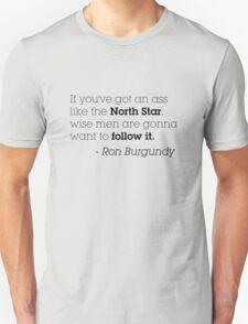 Ron Burgundy North Star T-Shirt
