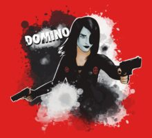 Domino-Marvel Comics by RabidDog008