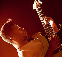 Tosin Abasi of Animals as Leaders - iPhone Case by HoskingInd