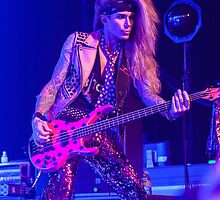 Lexxi Foxx of Steel Panther - Phone Case by HoskingInd
