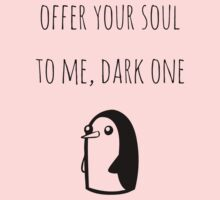 Offer Your Soul To Me, Dark One One Piece - Short Sleeve