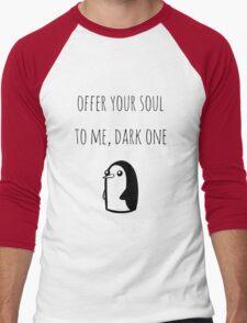 Offer Your Soul To Me, Dark One Men's Baseball ¾ T-Shirt
