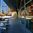 Sidewalk at Disney Concert Hall by Barbara Morrison