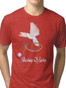 Easter Blessings Tri-blend T-Shirt