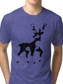Minimalist Sawsbuck Tri-blend T-Shirt