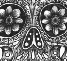 Hand drawn sugar skull  Sticker