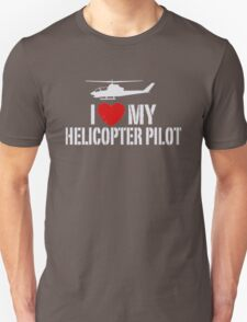 I' love my Helicopter Pilot T-Shirt