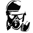 gas mask by 2piu2design