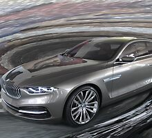 The BMW Pininfarina Gran Lusso Coupe by Lightrace