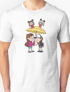 It's raining gnomes sticker Unisex T-Shirt